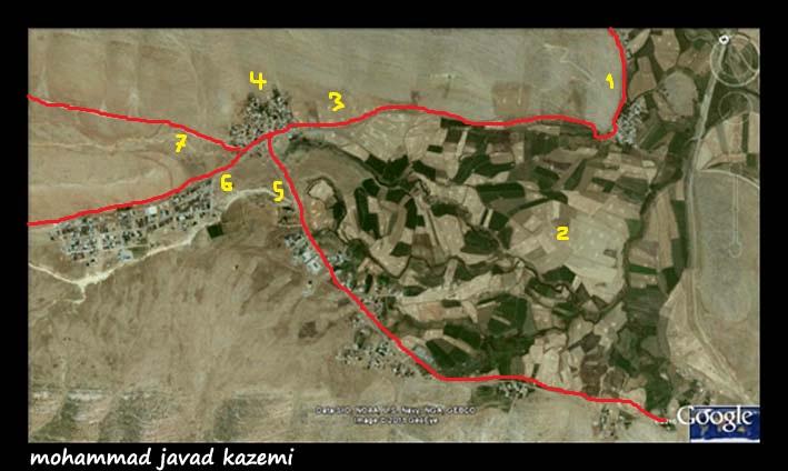 روستای منصوراباد دشتروم، از فــــــــراز